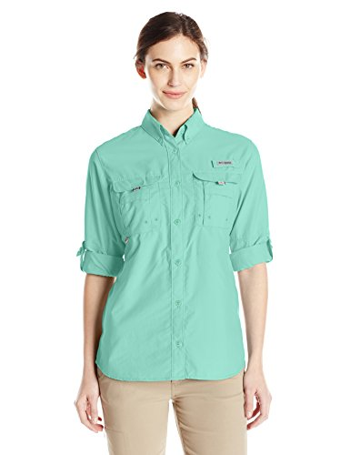 Columbia Women's Bahama Long Sleeve Shirt, Pixie, - Long Sleeve Bahama