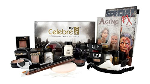 Mehron Makeup Celebre Pro Cream Kit (Caucasian)