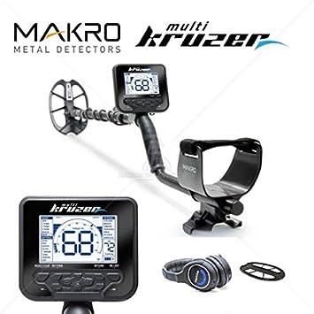 Detector de metales Makro Multi Kruzer: Amazon.es: Bricolaje y herramientas