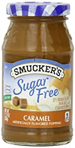 Smuckers Sugar Free Caramel Flavored Topping 1175 Ounce by Smucker's