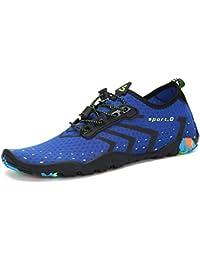 Mens Womens Water Shoes Quick Dry Barefoot for Swim Diving Surf Aqua Sports Pool Beach Walking Yoga
