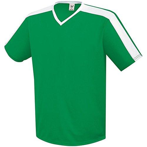(High Five Sportswear High Five Genesis Jersey-Adult,Kelly/White,Medium)
