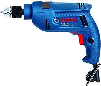 Bosch Impact Drill Machine GSB 501 Pistol Grip Drill��(13 mm Chuck Size)