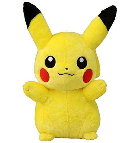 "2016 NEW Pikachu Plush Stuffed Doll 14.9""(40cm) Pokemon Takara Tomy Japan [Japan Import]"