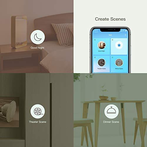 Koogeek Ampoule LED E27 7W wifi smart Intelligent Compatible avec Apple Homekit, Alexa, Google Assistant  Lumière dimmable Controle vocal  Télécommande 560LM iOS 11.0 et Android 5.0