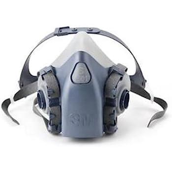 3m 7500 series half mask respirator medium