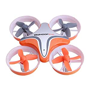 Boldclash BWHOOP B-03 Quadcopter Headless Mini RC Drone, with One-Key Return/Altitude Hold/LED for Kids Youth Beginners
