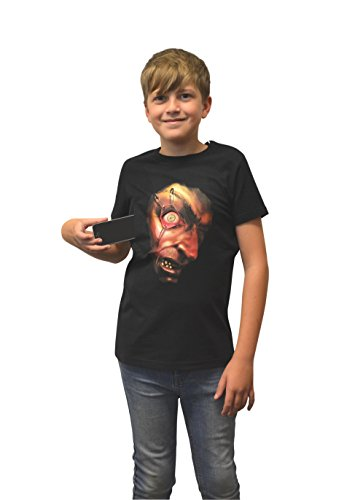 Morphsuits Moving Pinned Eyeball T-Shirt, X-Large (Age 12 - 13), One - Eye Iphone T Shirt
