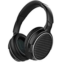Mixcder HD401 Bluetooth Headphones Over Ear, Hi-Fi Stereo Wireless Headset, aptX Sound, Soft Memory-Protein Earmuffs, Built-in Mic and Wired Mode for PC/Cell Phones/TV
