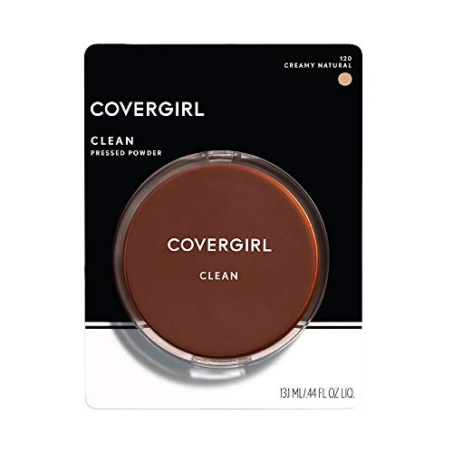Covergirl, Clean Pressed Powder Foundation, Creamy Natural, .39 Oz, 1 Count (Packaging May Vary)
