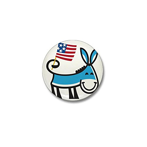 Democrat Donkey Lapel Pin (CafePress Democrat Donkey 1