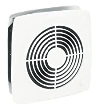 Broan-Nutone 511 Room-to-Room Ventilation Fan, Plastic White Square Exhaust Fan, 4.5 Sones, 180 CFM, 8""
