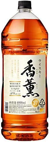 ウイスキー ウイスキー 香薫 ペット 4L 4本 1ケース