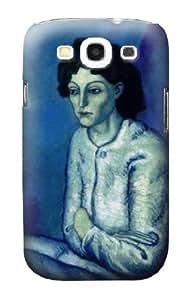 S0185 Picasso Femme aux Bras Croises Case Cover for Samsung Galaxy S3 WANGJING JINDA