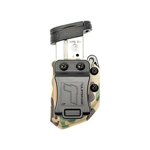 (Tulster Universal 9mm/.40 Single Stack Mag Carrier Echo Carrier IWB/OWB (Multicam))