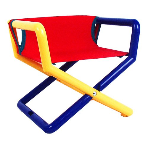 Hoohobbers Junior Director Chair, Primary Canvas