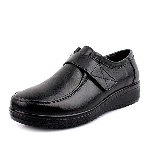escoge los zapatos/Zapatos de fondo suave para la tercera edad/Medio grande y zapatos de las mujeres de edad B