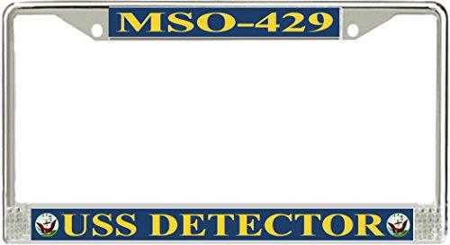 (MilitaryBest USS Detector MSO-429 License Plate Frame)