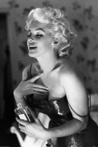 HOT SEXY Marilyn Monroe 36 X 24 Photograph Art Print Poster. Chanel No.5 Perfume. Marilyn Monroe Getting ready for the night. Romantic Famous Image