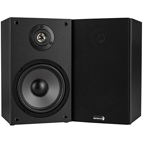 Dayton Audio B652 6 1 2 Inch 2 Way Bookshelf Speaker Pair