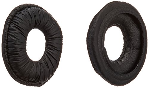 Plantronics (67063-01) 1-Pair Replacement Leatherette Ear Cushions for CS50 Uniband Headband (Plantronics Replacement Headband)