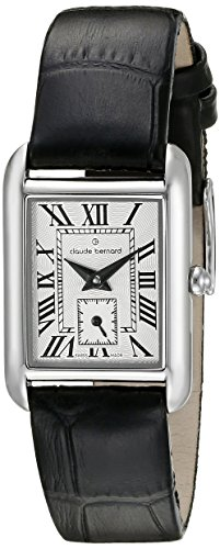 Claude Bernard Women's 25003 3 BR Ladies Fashion Analog Display Swiss Quartz Black Watch