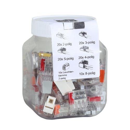 ViD Steckklemmen I Verbindungsklemmenmix C2073 Box 0, 5 - 2, 5 mm² 100 Stück 5 mm² 100 Stück ViolaDirekt GmbH