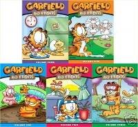 Garfield and Friends Seasons 1 2 3 4 5 (1-5) (Garfield Dvd)
