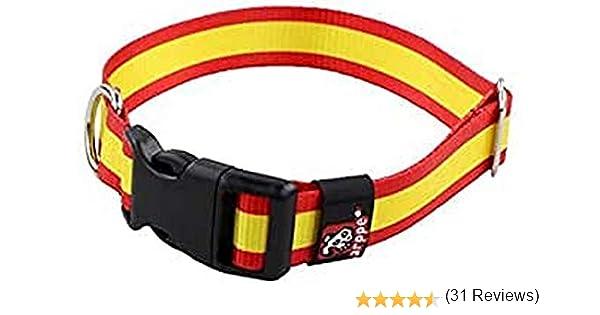Arppe 196122545561 Collar Nylon Bandera: Amazon.es: Productos para ...