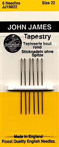 Colonial Needle Tapestry Hand Needles-Size 22 6/Pkg