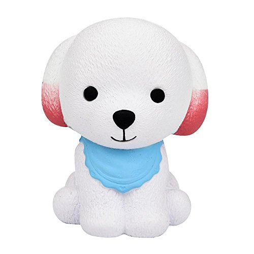 Lookatool Jumbo Squishy Cute Puppy Scented Cream Slow Rising Squeeze Decompression (He's Appealing Mask)