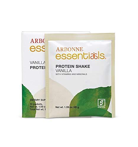 Arbonne - Protein Shake Mix - 10 Pack (Vanilla)