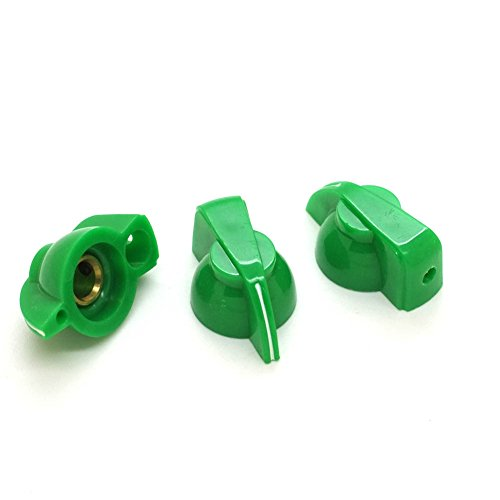Easy Way 10Pcs Chicken Head Control Knob 20mmDx14mmH for 1/4
