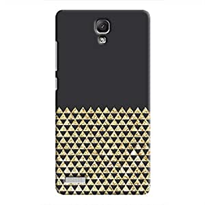 Cover It Up - Sand Triangles Redmi Note 4GHard Case
