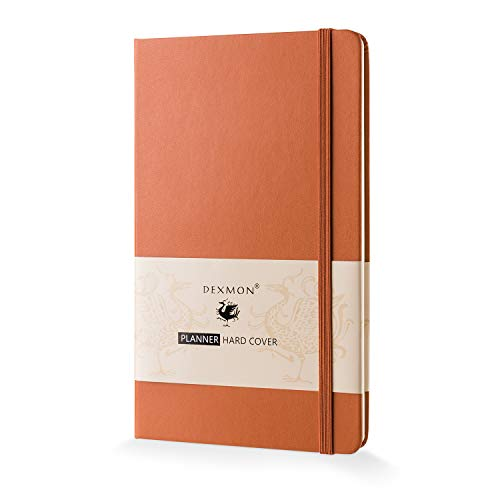 Hardcover Planner 2019, Dexmon Daily Weekly Monthly Personal Organizer