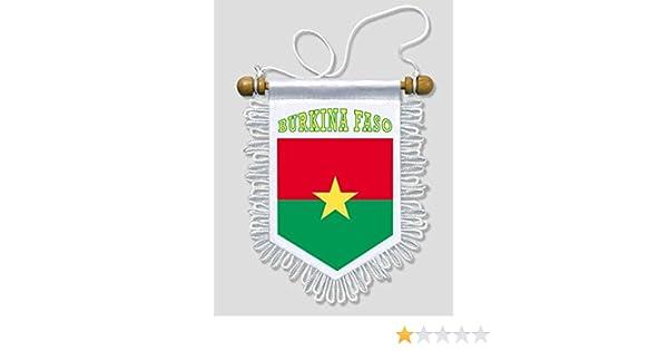 banderin para coche y pared KOO Interactive Bandera Gambia 13 x 15 cm