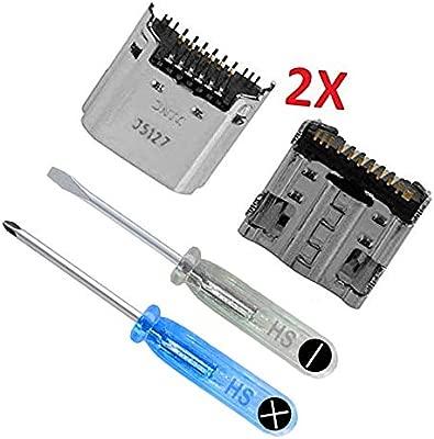 MMOBIEL 2 x Conector de Carga Dock Repuesto Compatible con Samsung Galaxy Tab 3 7,0 Pulg SM-T210 T211 Inc. Herramientas