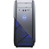 Dell Inspiron 5675 Gaming Desktop - AMD Ryzen 7 1700 up to 3.7 GHz Processor, 8GB DDR4 Memory, 256GB SSD + 4TB Hard Drive, Nvidia Geforce GTX 1080 8GB Graphics, DVD Burner, Windows 10, Recon Blue