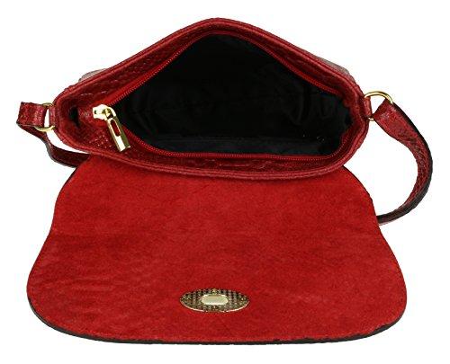 Girly Handbags - Bolso bandolera Mujer Red