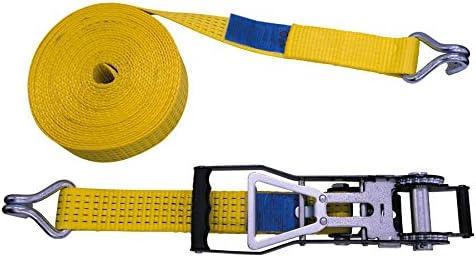50/mm Petex 43193019/cricchetto cinghia 2/pezzi Giallo Cricchetto 35/cm 10/m 2500//5000/Dan doppio gancio appuntito