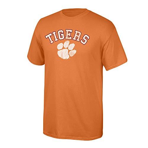 - Elite Fan Shop NCAA Men's Clemson Tigers T Shirt Team Vintage Clemson Tigers Orange Large