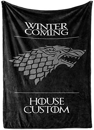Stark Game of Thrones Throw Blankets