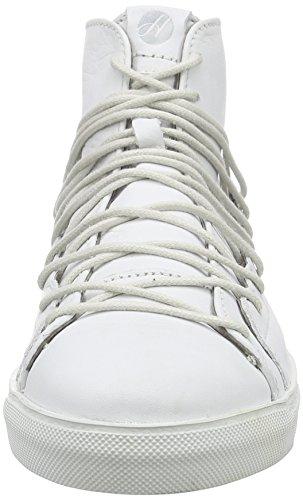 H Shoes BERGOT - Zapatillas Altas, Mujer Blanco