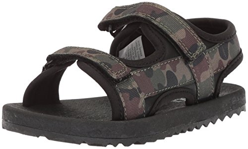 Image of The Children's Place Boys' TB FIN Sandal Flat, camo, TDDLR 5 Medium US Infant