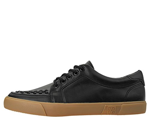 Sneaker T Gum Creeper K Leather Zapatilla Black Unisex Black U VLK Alta Adulto wZIqgSZU