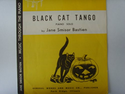 Black Cat Tango Bastien Halloween Piano Solo Sheet Music -