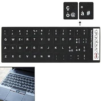 Adhesivos con las teclas italianas para teclado de ordenador: Amazon.es: Electrónica