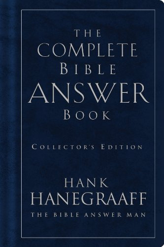 The Complete Bible Answer Book: Collector's Edition cover