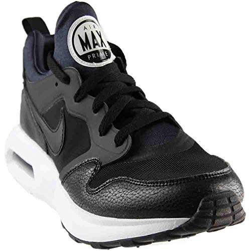 Shox Air Max (Nike Mens Air Max Prime Running Shoes Black/White 876068-001 Size 10.5)
