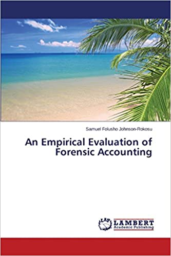 Book An Empirical Evaluation of Forensic Accounting